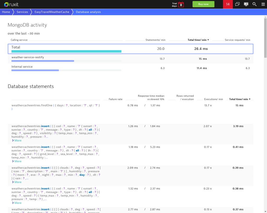 MongoDB support for Node.js