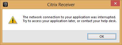 network error?