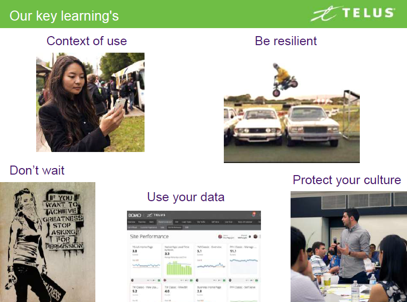 Telus-key-learnings