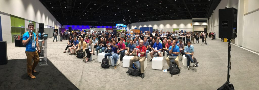 Our LIVE Audience at our Atlassian Summit Presentation