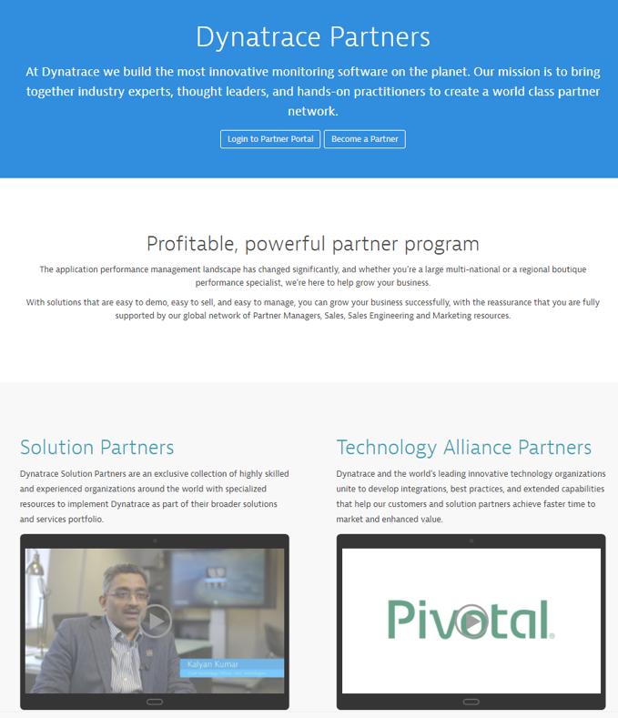 Our new Dynatrace Partner Portal | Dynatrace blog