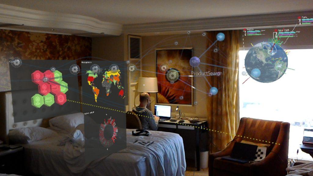 Hotel room lens
