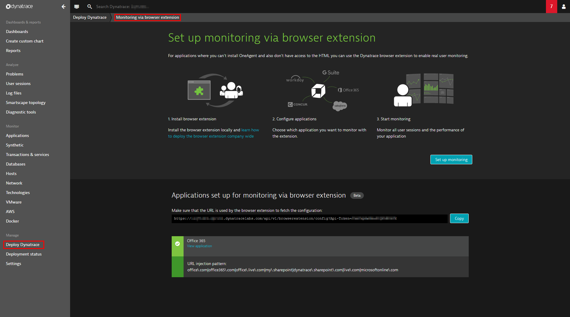 Real User Monitoring (RUM) browser extension for 3rd-party SaaS