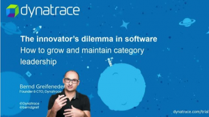 The innovator's dilemma in software