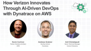 How Verizon innovates through AI-Driven DevOps with Dynatrace on AWS
