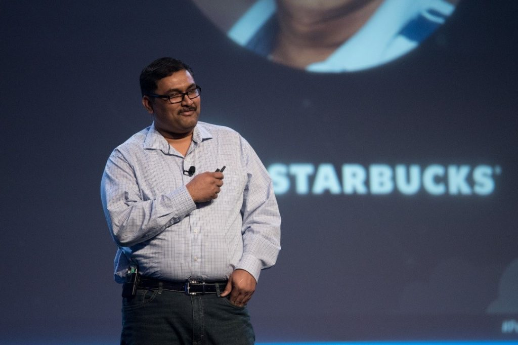 Relive a digital acceleration story with Starbucks