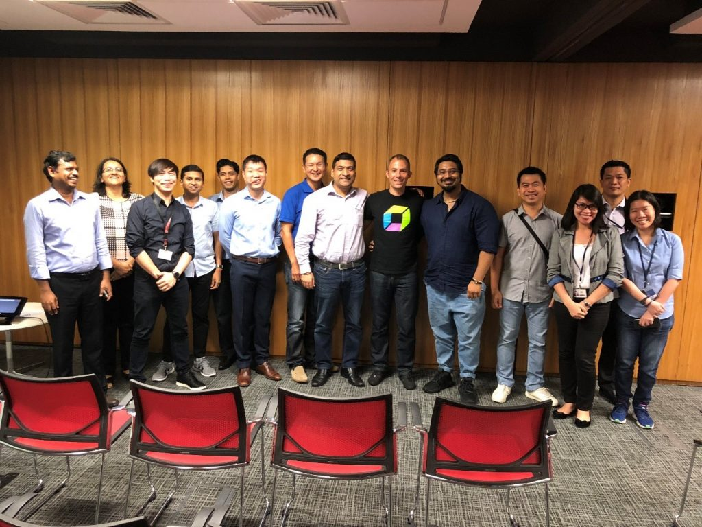 Thanks JPMC team in Singapore for hosting me to chat about the topics I am passionate about!