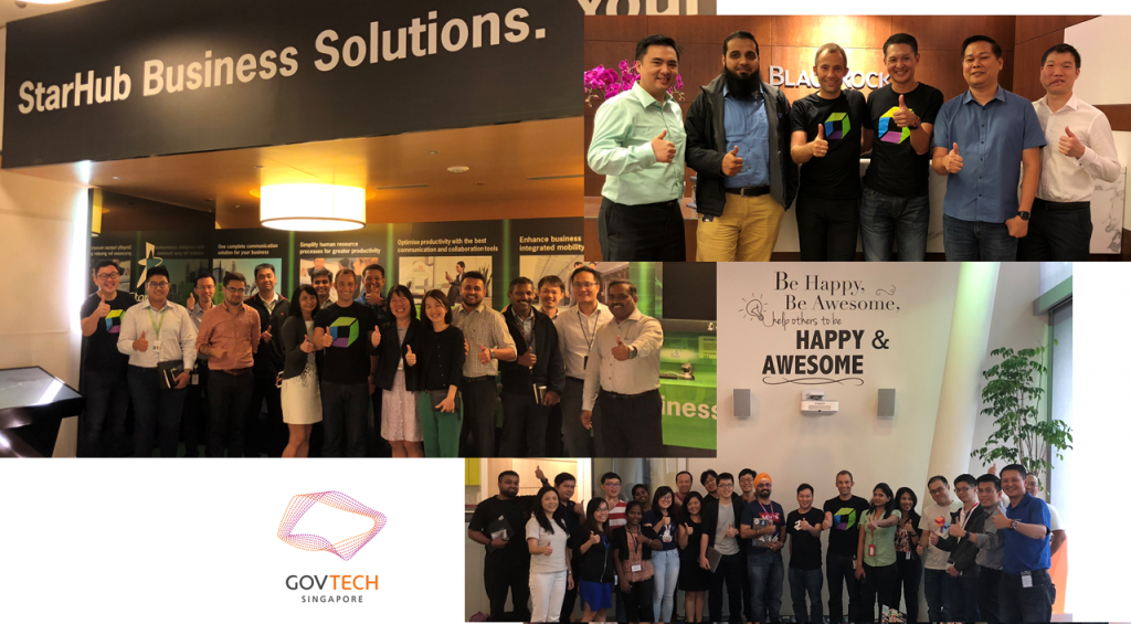 Thanks to my friends at StarHub, BlackRock and GovTech: cu again soon!