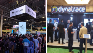 Dynatrace AWS Re:Invent booth