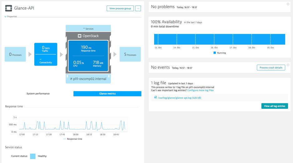 Glance plugin metrics