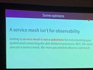 slide from @christianposta at KubeCon2018
