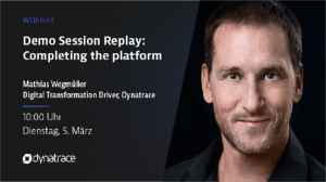 Session Replay Demo: Completing the platform