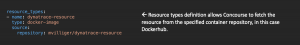 Dynatrace Concourse resource type entry