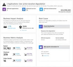 AIOps in action with Dynatrace
