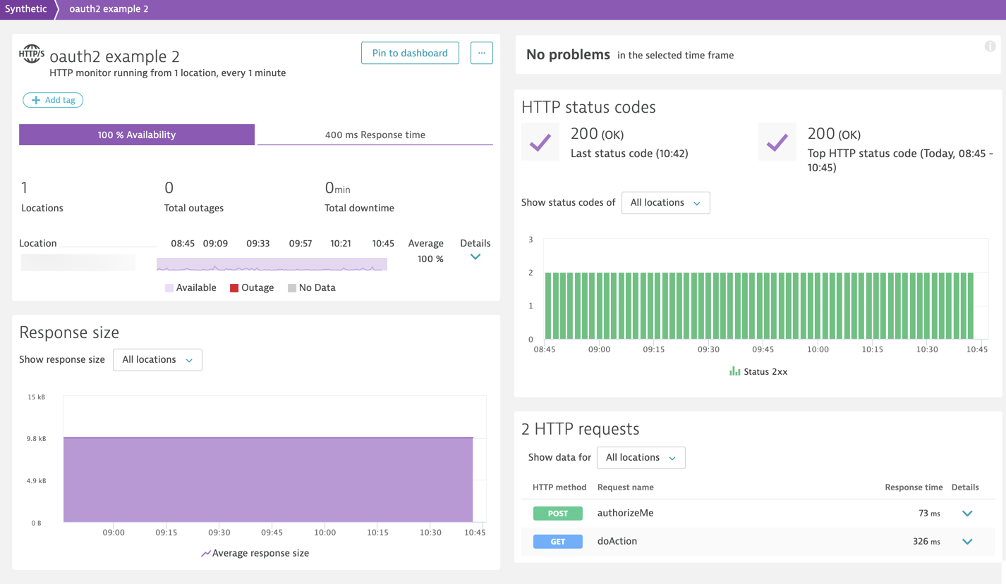 Monitor your OAuth 2 0 protected APIs with Dynatrace