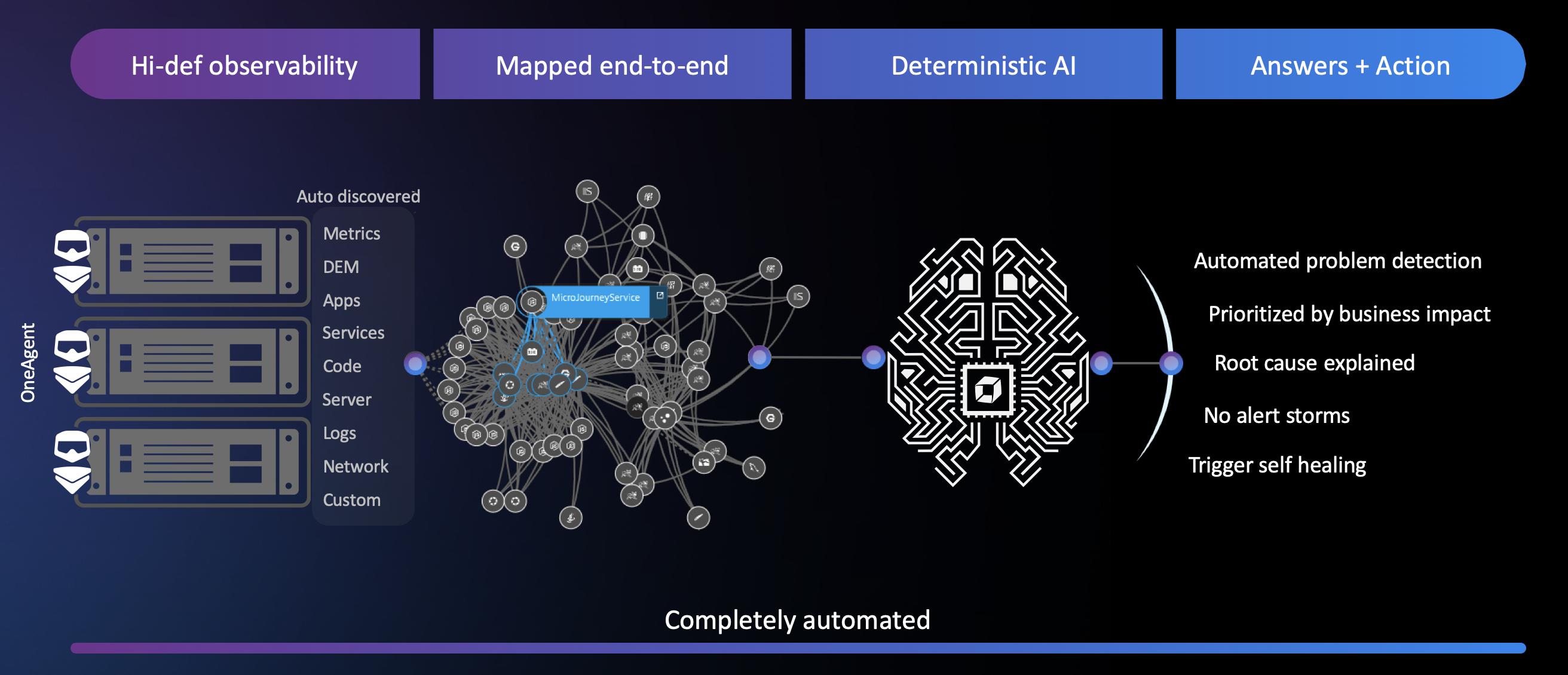 Software intelligence platform infographic