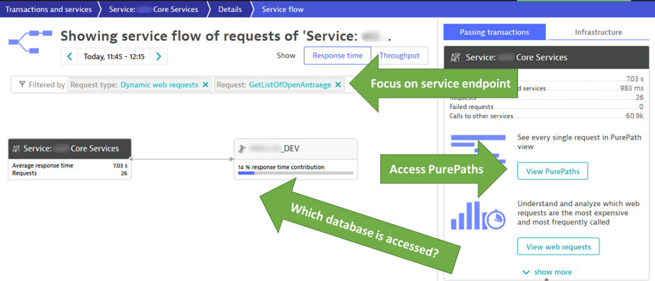 Request attributes also allows easier and focused diagnostics for individual endpoints!