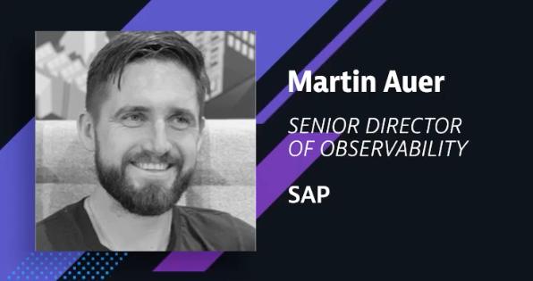 Martin Auer, SAP Sr. Director of Observability