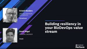 Building resilience into your BizDevOps value stream