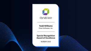 Special Recognition Award for Excellence: Todd Williams, Orasi Software