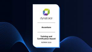 Training & Certification Award: Accenture