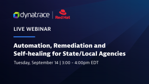Dynatrace and Red Hat webinar