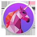 AWS GameDay pixelated unicorn