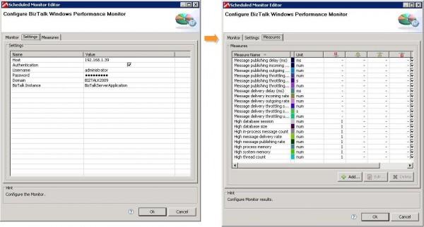 BizTalk Monitor Configuration