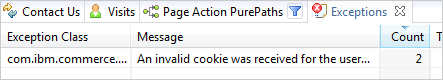 The browser sent a cookie that was invalid causing the eCommerce Platform to trigger an exception, returning an HTTP 404 error resulting in the failed AddtoCart action.