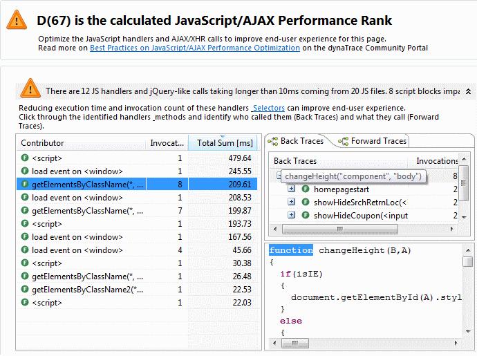 JavaScript Optimization View