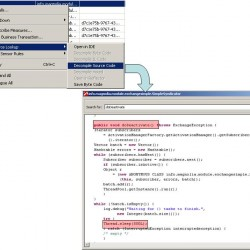 Lookup Source Code of problematic Method