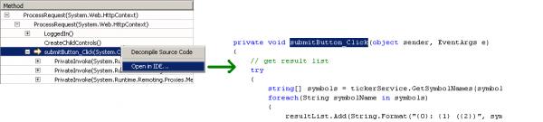 dynaTrace CodeLink Plugin